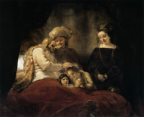 Rembrant-yaakovs blessing